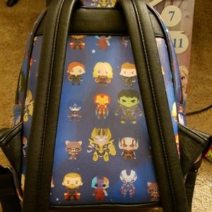 Loungefly Bags - Loungefly avengers back pack with keychain!